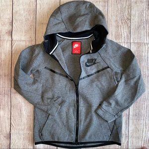 Nike Boys Medium Grey Zip Up Hoodie